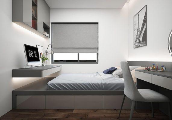 thiết kế nội thất chung cư 1 pn